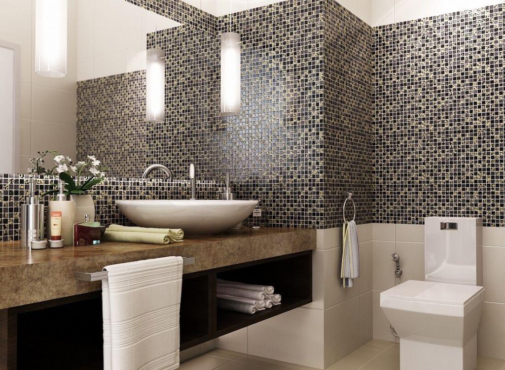 Что лучше: плитка или мозаика?