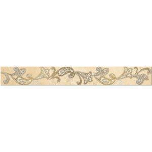 Бордюр Azori «Sfumato» Beige Paisley (декор) 50.5Х6.2