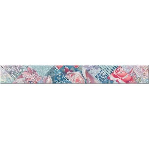 Бордюр Azori «Legato» Blue Damask (декор) 50.5Х6.2