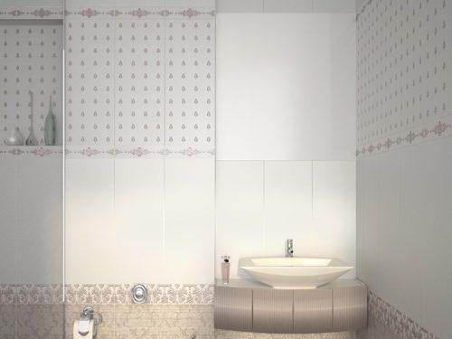 Плитка настенная Azori «Chateau» Mocca Lis (декор) 50.5х20.1