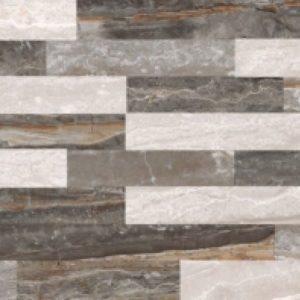 Керамогранит VitrA «Bergamo» 3Д Микс теплая гамма рельеф (бежевый) 60Х30 (настенная, декор)