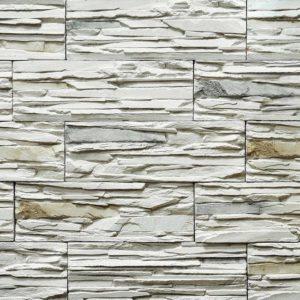 "Декоративный камень Bergstone ""Горный пик"" 161900ГП белый (29.9Х10Х1.6-1.8 см)"