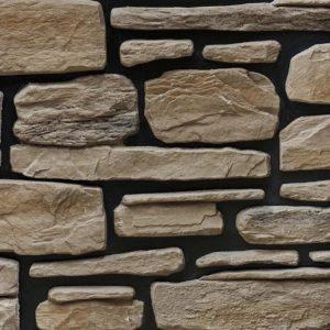 """Декоративный камень Bergstone """"Гранитный разлом"""" 160407 коричневый (7-9Х12Х2.5 см) (разноразмерный)"""