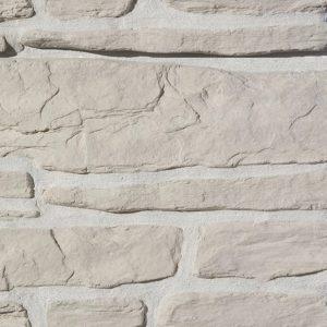 """Декоративный камень Bergstone """"Гранитный разлом"""" 160400 белый (7-9Х12Х2.5 см) (разноразмерный)"""
