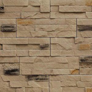 "Декоративный камень Bergstone ""Каменистый уступ"" 160707 коричневый (29.8Х9.2Х0.5-1.5 см)"