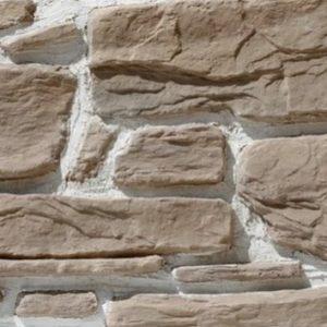 """Декоративный камень Bergstone """"Гранитный разлом"""" 160414 песчаный (7-9Х12Х2.5 см) (разноразмерный)"""