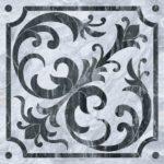 Керамогранит VitrA «Bergamo» классический микс холодная гамма (серый) 60Х60 (напольная, декор)