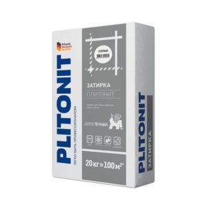 Затирка Plitonit белая 20 кг
