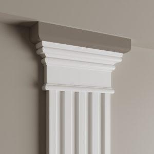 Декоративный элемент верхний Ultrawood арт. D 4200 (22Х3Х4.3 см)