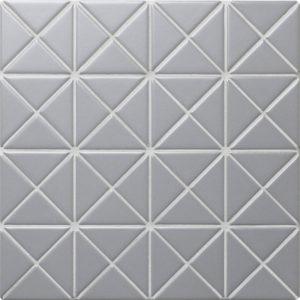 """Керамическая мозаика Starmosaic """"Albion"""" GREY (сетка 25.9Х25.9Х0.6 см)"""