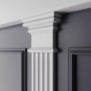 Декоративный элемент верхний Ultrawood арт. D 3011N (11.2Х8.9Х3 см)
