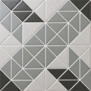 "Керамическая мозаика Starmosaic ""Albion"" CARPET OLIVE (сетка 25.9Х25.9Х0.6 см)"