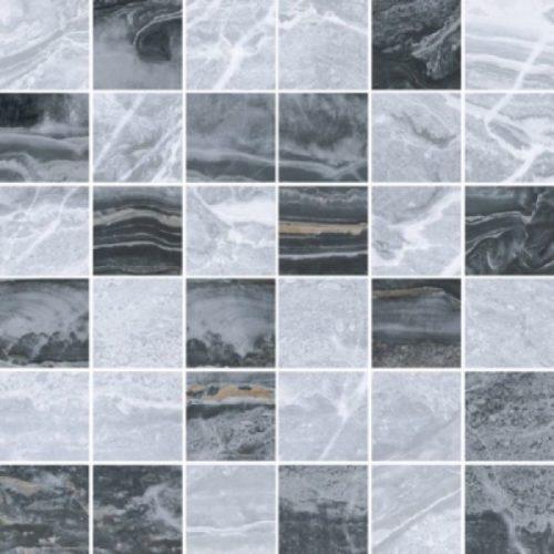 Керамогранит VitrA «Bergamo» холодный микс (5х5) серая 30Х30 (декор, мозаика)