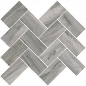 Керамогранит VitrA «Palissandro» шеврон серый (10Х5) 31.5Х27.9 (настенная, декор, мозаика)