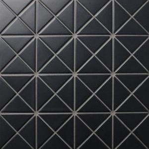 "Керамическая мозаика Starmosaic ""Albion""  BLACK (сетка 25.9Х25.9Х0.6 см)"