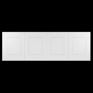 Стеновая панель Ultrawood с 4-мя филенками, арт. UW 410 А (76Х234,6Х1,6 см)