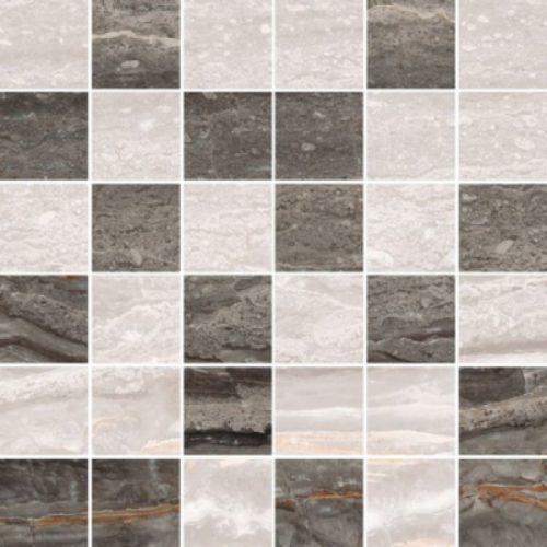 Керамогранит VitrA «Bergamo» теплый микс (5х5) бежевая 30Х30 (декор, мозаика)