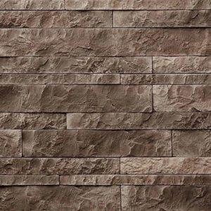 """Декоративный камень Bergstone """"Доломитовые Альпы"""" 160609 шоколад (разноразмерный)"""