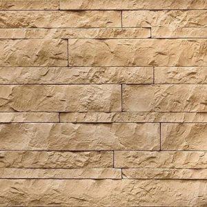 """Декоративный камень Bergstone """"Доломитовые Альпы"""" 160603 кофе с молоком (разноразмерный)"""