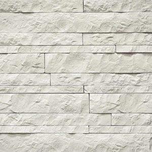 """Декоративный камень Bergstone """"Доломитовые Альпы"""" 160600 белый (разноразмерный)"""