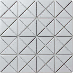 """Керамическая мозаика Starmosaic """"Albion"""" WHITE (сетка 25.9Х25.9Х0.6 см)"""