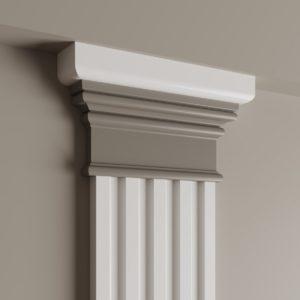 Декоративный элемент верхний Ultrawood арт. D 4100 (19.5Х8.9Х3 см)