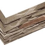 """Декоративный камень (угловой элемент) Bergstone """"Горный пик"""" 161907 Коричневый (9.5Х18Х10Х1.5-1.8 см)"""