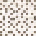 Керамогранит VitrA «Palissandro» коричневый микс (3Х3) 29.4Х29.4 (настенная, декор, мозаика)