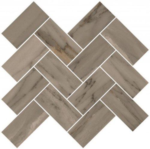 Керамогранит VitrA «Palissandro» шеврон коричневый (10Х5) 31.5Х27.9 (настенная, декор, мозаика)