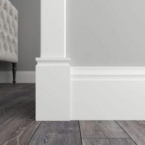 Декоративный элемент нижний Ultrawood арт. D 1085 (8.5Х15.5Х1.8 см)