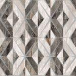 Керамогранит VitrA «Bergamo» геометрический микс теплая гамма (бежевый) 60Х60 (напольная, декор)