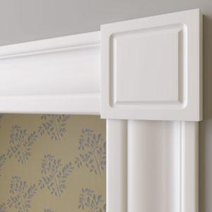 Декоративный элемент верхний Ultrawood арт. D 2095 (9.5Х9.5Х1.8 см)