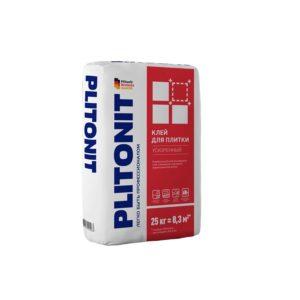 Клей для плитки Plitonit Ускоренный серый 25 кг