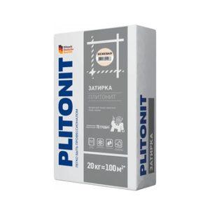 Затирка Plitonit бежевая 20 кг