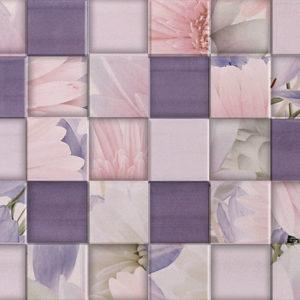 Плитка настенная Gracia Ceramica «Aquarelle» lilac wall 03 (60Х25 см)