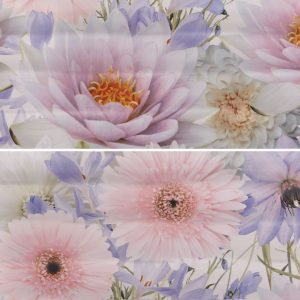 Панно настенное (декор) Gracia Ceramica «Aquarelle» lilac panno 01 (60Х50 см)