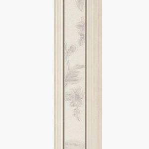Бордюр Serra «Romantica 512» Ice white Border (90Х15Х1.2 см)