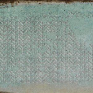 Плитка настенная Gracia Ceramica «Antonetti» turquoise wall 02 зеленая (10Х30 см)