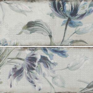 Плитка настенная (декор) Gracia Ceramica «Antonetti» white wall 01 (10Х30 см)