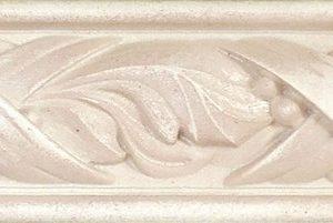 Бордюр настенный Gracia Ceramica «Antico» Сlassic beige border 01 бежевый (25Х3.5 см)