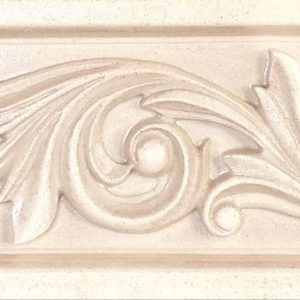 Бордюр настенный Gracia Ceramica «Antico» Сlassic beige border 02 бежевый (25Х6 см)