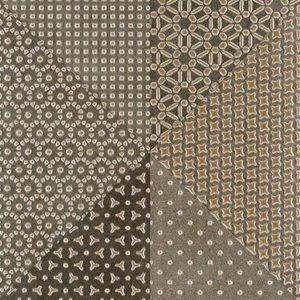 Плитка настенная (декор) Serra «Alcantara 514» Light brown & brown decor 2 (90Х30Х1.2 см)