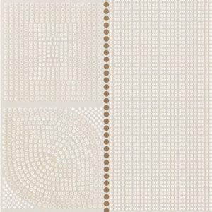 Плитка настенная (декор) Serra «Flavia 518» Wall Flower Decor Beige Glossy (90Х30Х1.2 см)