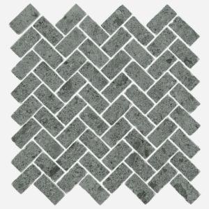 Керамогранит Italon «Дженезис Силвер Мозаика Кросс» натуральный (31Х29.7Х1.0 см)