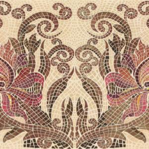 Плитка настенная (декор) Gracia Ceramica «Alevera» beige decor 01 бежевая (90Х30 см)