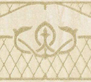 Бордюр Gracia Ceramica «Regina» beige border 01 бежевый (25Х8.5 см)