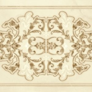 Плитка настенная (декор) Gracia Ceramica «Visconti» beige decor 02 бежевая (60Х25 см)