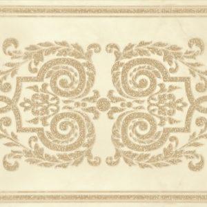 Плитка настенная (декор) Gracia Ceramica «Visconti» beige decor 03 бежевая (60Х25 см)