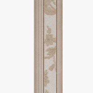 Бордюр Serra «Romantica 512» Brown Border (90Х15Х1.2 см)