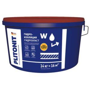 Гидроизоляция Plitonit ГидроЭласт 14 кг